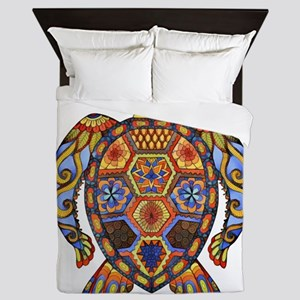 Each Turtle Art Queen Duvet